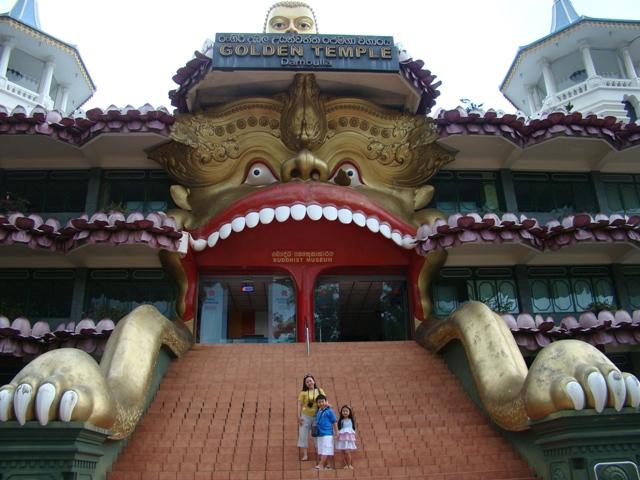 Golden Buddha Temple, Kandy